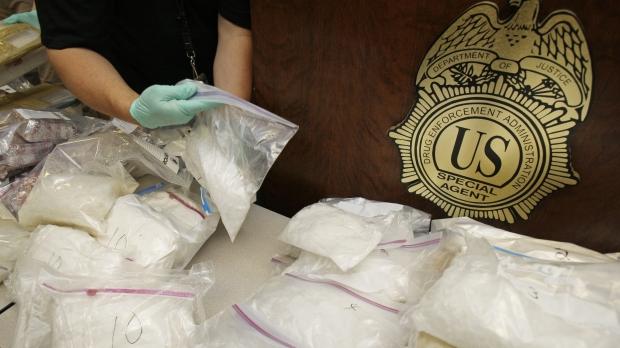 bags of methamphetamine