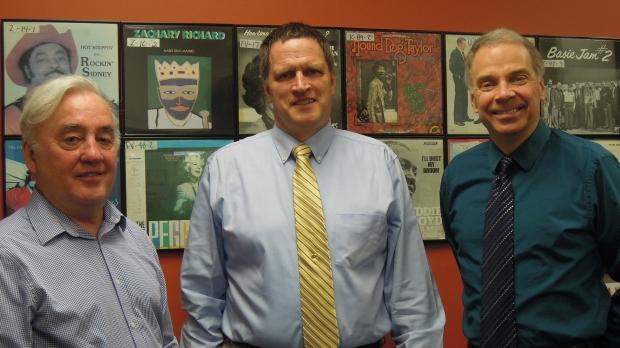 Blaine Marcou, Mike Herro and Craig Harmes