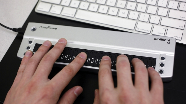 Keyboard Braille Blind Disability Technology