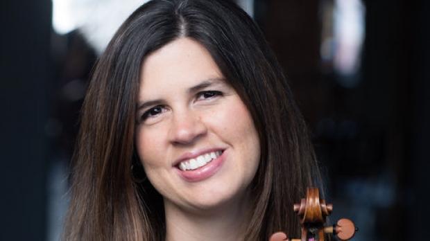 Photo of violinist Brandi Berry