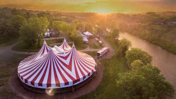 Big Top Tent Circus World Baraboo