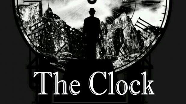Illustration for the radio program The Clock