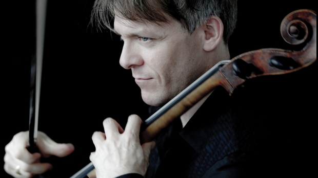 Photo of Cellist Alban Gerhardt