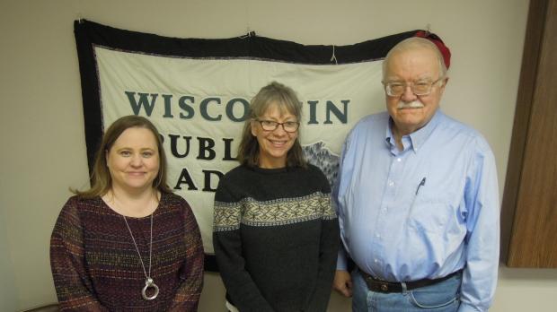 Jodi Emerson, Jane Jeffries and Jim Oliver
