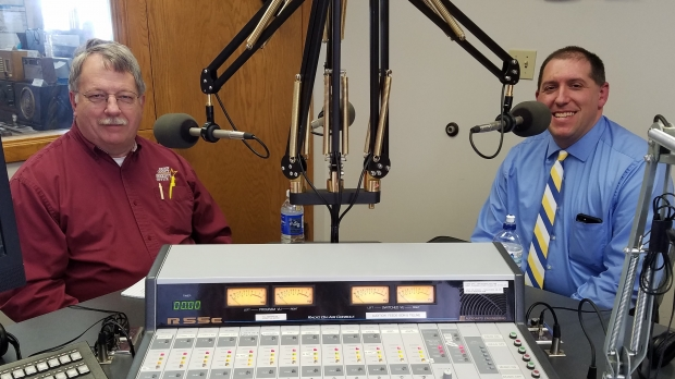 Sheriff Dennis Smith and Sheriff Chris Fitzgerald in studio