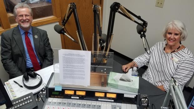 Warren Petryk (pictured left) and Charlene Warner