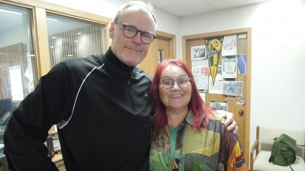 Al Ross and Cathy Reitz