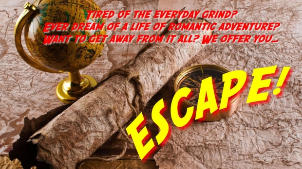 Illustration for the radio program Escape
