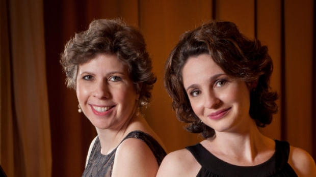 Pianists Stanislava Varshavsky & Diana Shapiro