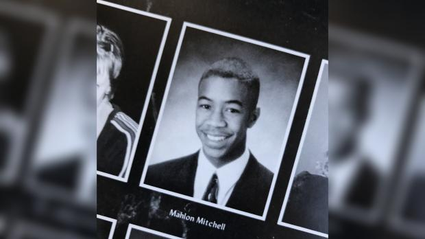 Mahlon Mitchell yearbook photo