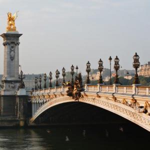 image of bridge over the Seine in Paris
