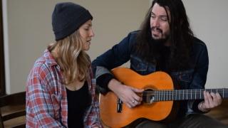 Adriel Denae and Cory Chisel perform