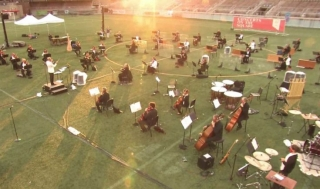 Concerts on the Square rehearsal picture