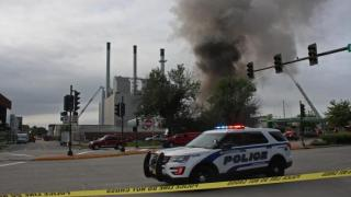 Madison substation fire