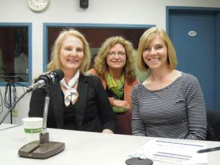 Toni Asher, Lori Monson and Nancy Flottmeyer