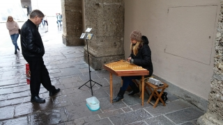 Photo of Street Musician in Salzburg