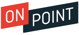 On Point program logo