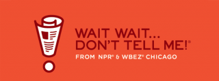 Promotional illustration for the NPR program Wait, Wait... Don't Tell Me!