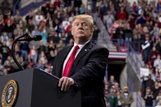 Donald Trump at Green Bay rally
