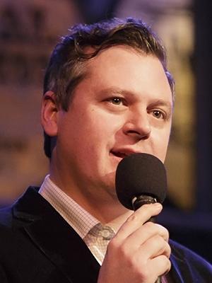 Photo of Luke Burbank, host of Live Wire