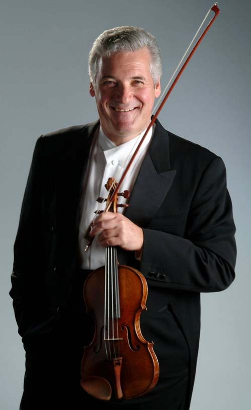 violinist Pinchas Zukerman