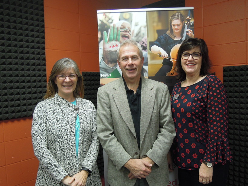 Jodi Widuch, Chris Hardie and Marianne Torkelson
