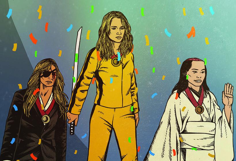Illustration of Kill Bill