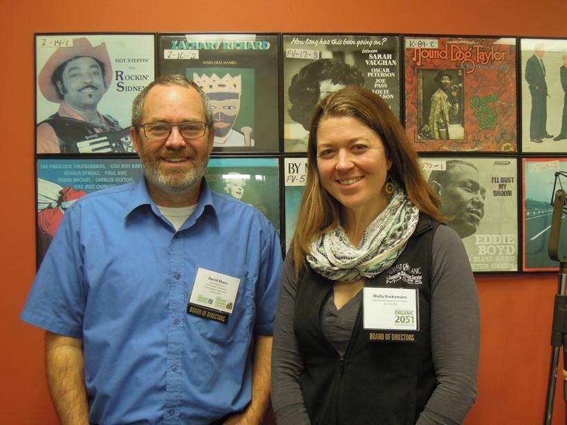 David Abazs and Molly Rockamann