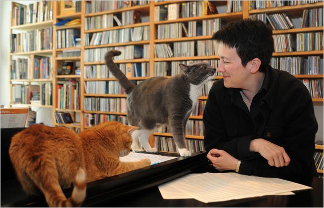 Composer Jennifer Higdon, photo bySabina Louise Pierce