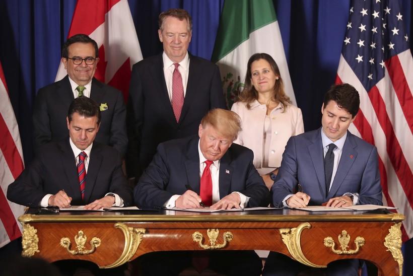 trade agreement, Trump, Trudeau, Nieta, Canada, Mexico