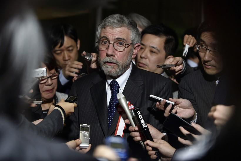 US economist and Nobel-prize of Economy winner Paul Krugman