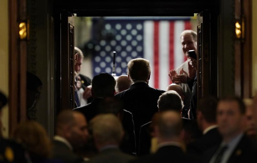 President Trump On Capitol Hill
