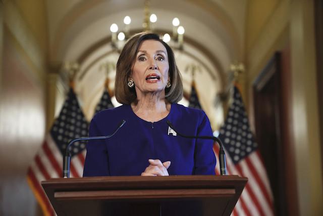 Nancy Pelosi announces formal impeachment inquiry of President Trump on Capitol Hill.