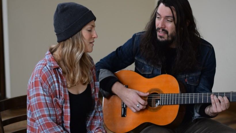 Wisconsin Musicians Adriel & Cory