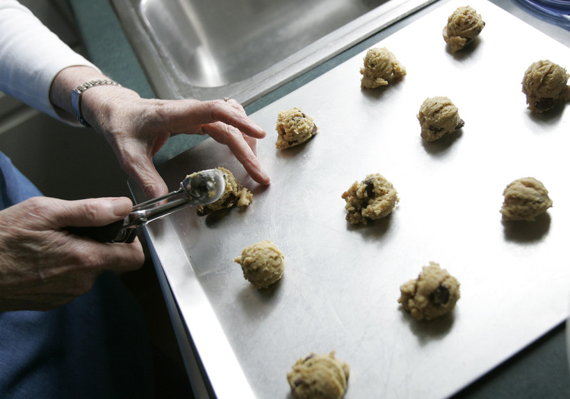 Making cookies. Judge Rules Wisconsin Ban On Selling Homemade Baked Goods Is
