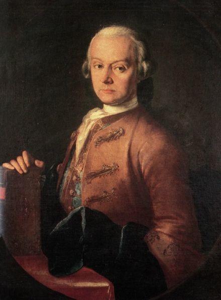 Portrait of Leopold Mozart