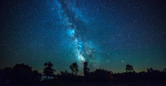 Nice The Milky Way At Newport State Park In Door County, Wisconsin.