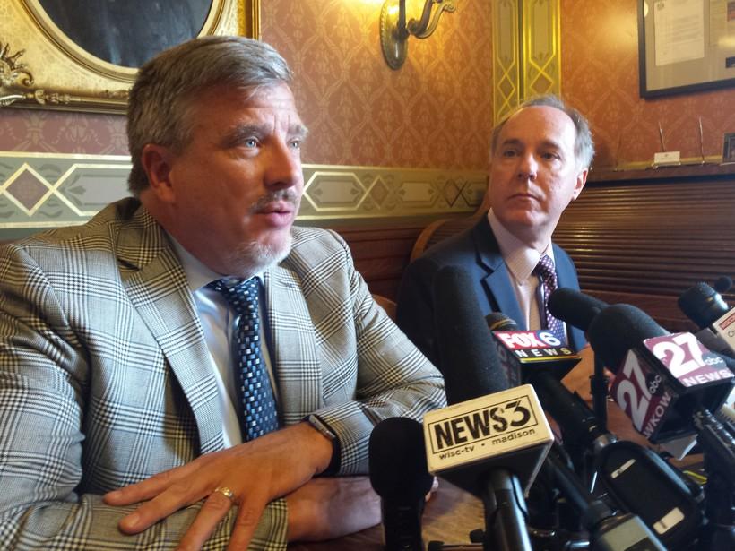 Rep. John Nygren and Assembly Speaker Robin Vos