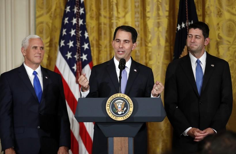 Mike Pence, Scott Walker, Paul Ryan