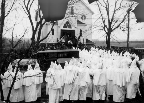 Ku Klux Klan funeral