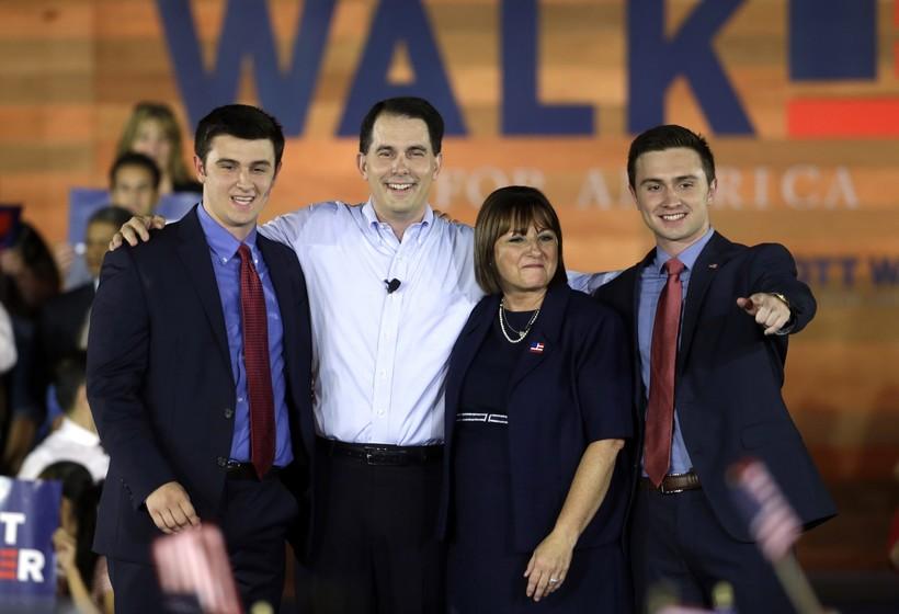 Scott Walker family