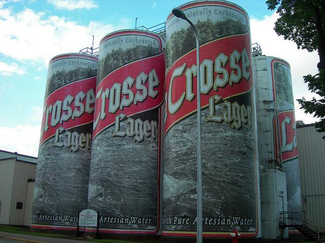La Crosse Beer Cans