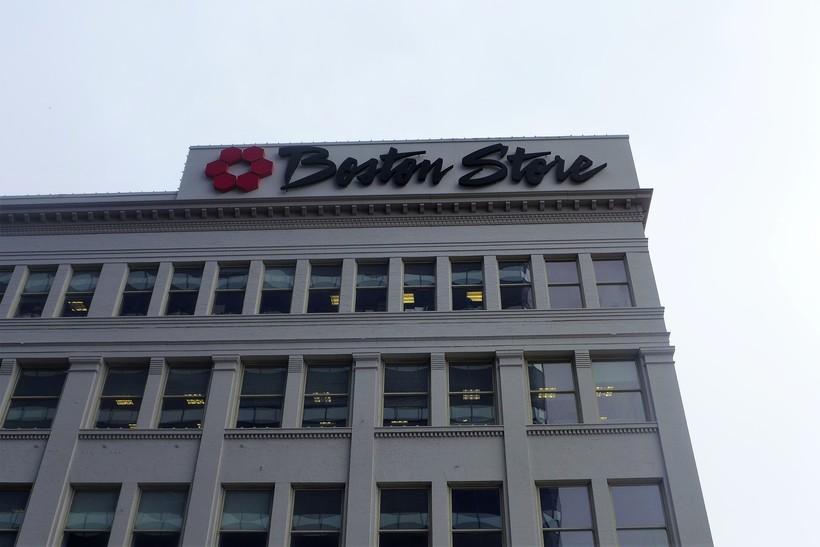 The Bon-Ton Inc. headquarters in downtown Milwaukee