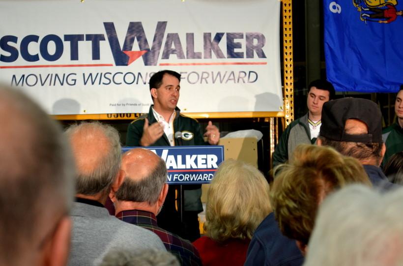 Gov. Scott Walker re-election tour