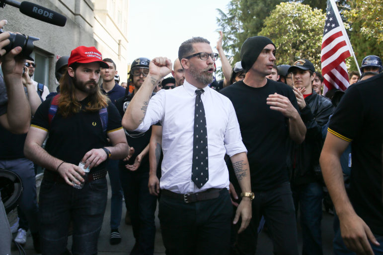Proud Boys founder Gavin McInnes
