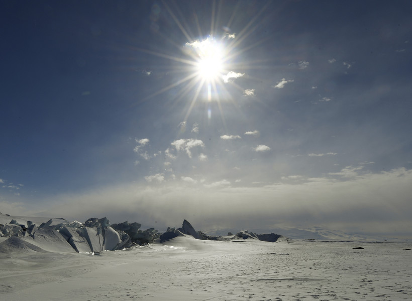 Scott Base in Antarctica