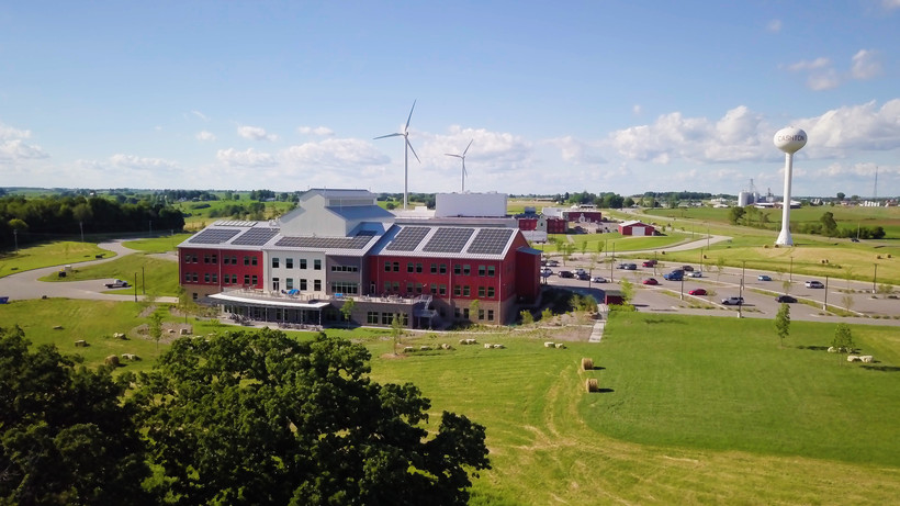 Organic Valley Solar Power