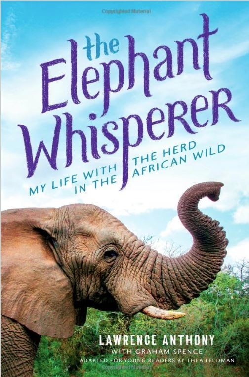 Book cover of The Elephant Whisperer by Lawrence Anthony