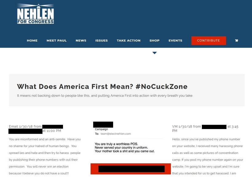 Paul Nehlen's campaign website