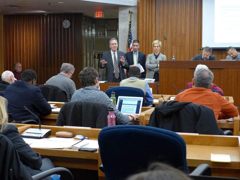 OIR Group presents at Madison City Council meeting